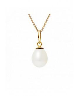 Pendentif Bélière Or Jaune véritables Perle